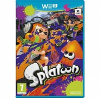 WiiU Splatoon + amiibo Splatoon Squid3109931099